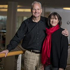 John Kispert '85 and Jill Goldberg Kispert