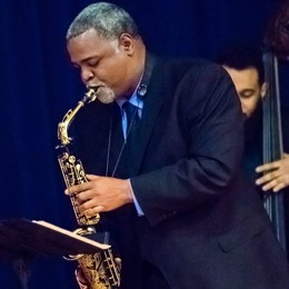 Damani Phillips on sax