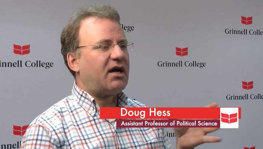 Doug Hess discusses the Grinnell poll