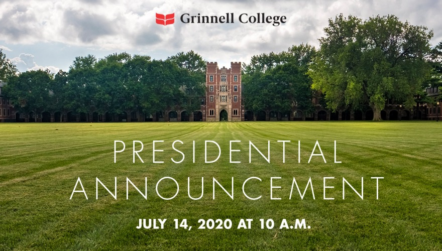 Text: Presidential Announcement July 14, 2020 at 10 a.m.
