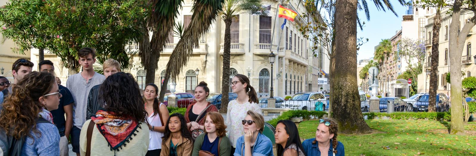 Global Learning Program visits with non-governmental organization in Ceuta, Spain