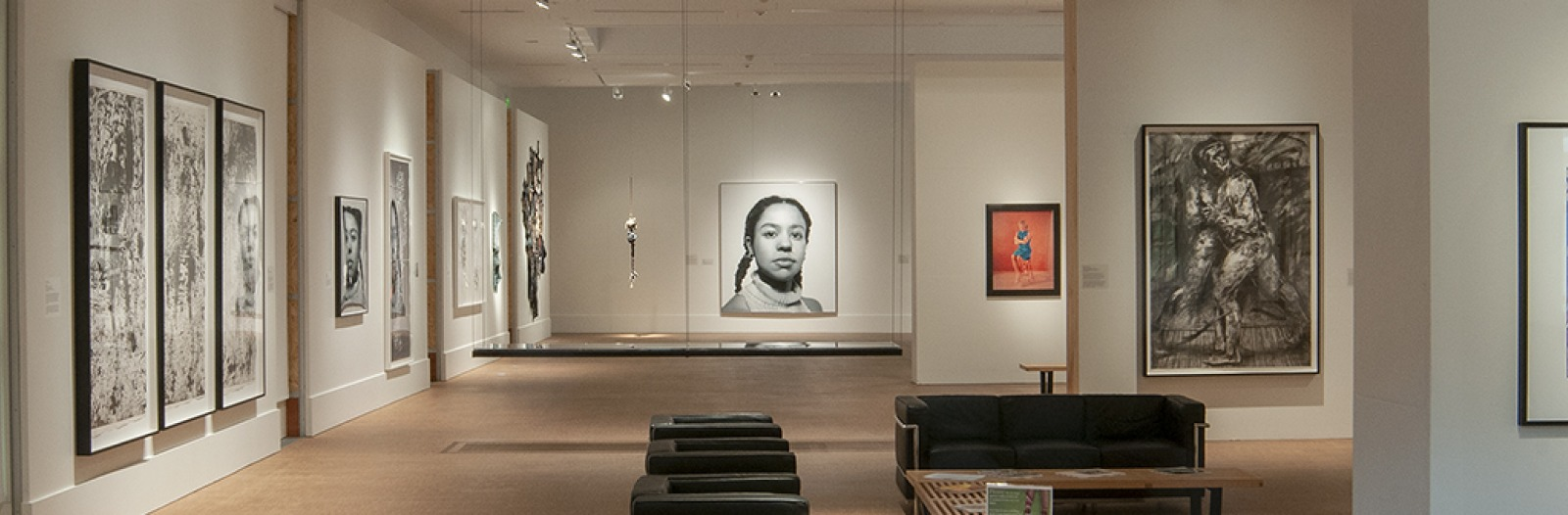Installation view of For Campus and Community: The Collection of the Grinnell College Museum of Art
