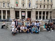 Global Learning Program touring Rome spring break