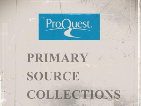 Proquest Primary Source Collections logo