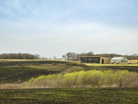 Iowa landscape at CERA