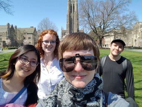 Picture of Students who attended Duke Feminist Theory Workshop