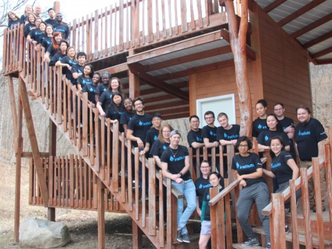 Picture of all participants of the Institute by LeaderShape 2019