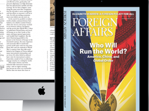 Multimedia with excerpts from Foreign Affairs Magazine