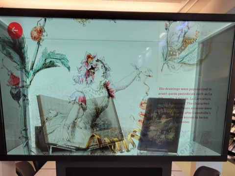 Magic Box in Burling Library
