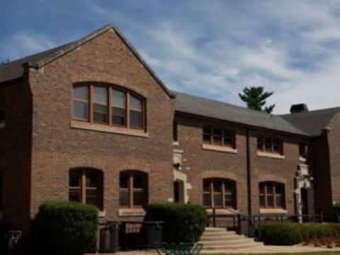 Photo of Steiner Hall, Grinnell College