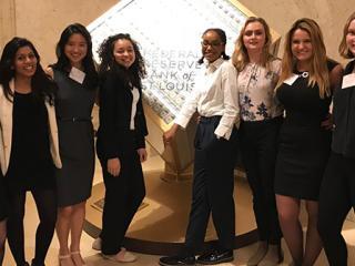 Grinnellians at Women in Economics Symposium 2018