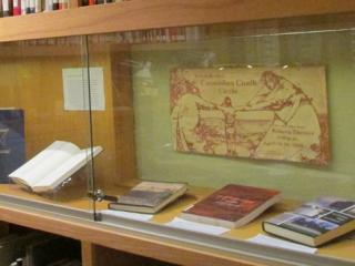 German exhibit in Burling Library Special Collections