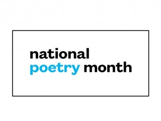 Text: National Poetry Month