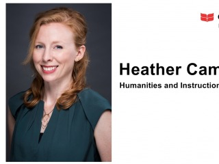 Heather Campbell, Humanities and Instruction Librarian (1-year term)