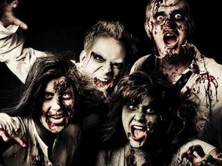 Zombie-like people