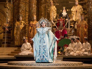 scene from Turandot