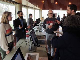 Anthropology Professor Joshua Marshack explains his digital project