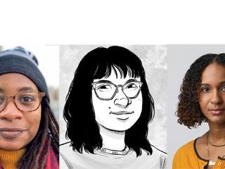 Jumi Bello, Soliel Ho, and Concepcion De Leon