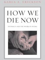 Cover of How We Die Now