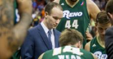 Dave Arseneault, Jr. coaches the Reno Bighorns