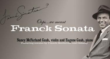Frank Sinatra? Oops, we meant Franck Sonota! (from poster)