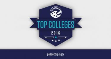 Peace Corps Top Colleges 2016, peacecorp.gov