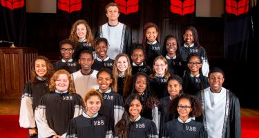 Grinnell College Young, Gifted, and Black Gospel Choir, Fall 2014