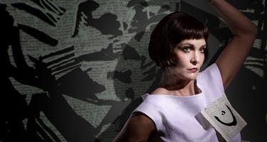 Soprano Marlis Petersen as Lulu