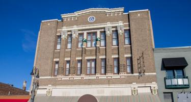 Top floors of the Masonic Temple, Grinnell, Iowa