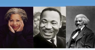 Toni Morrison, Martin Luther King, Jr., Frederick Douglass