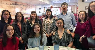 Chinese and Japanese Dept Senior Dinner 2018