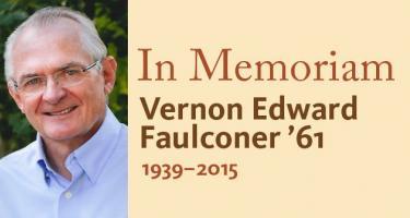 In Memoriam, Vernon Edward Faulconer '61, 1939-2015
