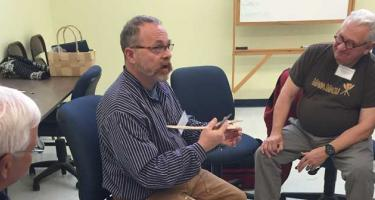 Fred Livesay teaching a workshop