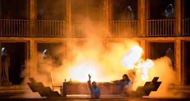A scene from the Metropolitan Opera's Don Giovanni