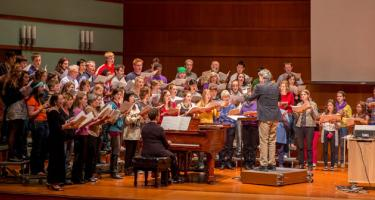 Grinnell Oratorio Society rehearsal
