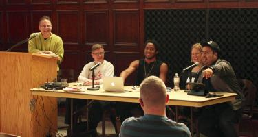 Alumni panel at Stonewall Resource Center's 30th anniversary engage with audience