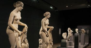 Knidia and other Greek works in gallery