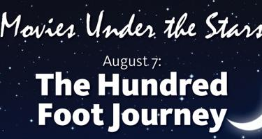 Movies under the Stars, Aug. 7, The Hundred Foot Journey