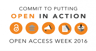 Commit to Putting Open in Action, Open Access Week 2016