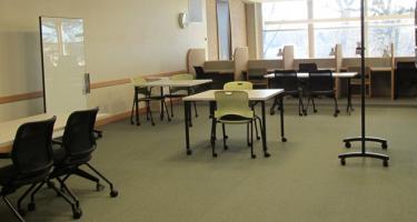 New Burling Second Floor Study Space