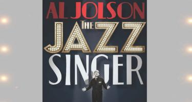 Detail from poster for Al Jolson's The Jazz Singer
