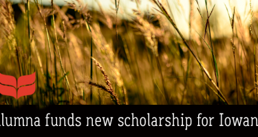 Alumna funds new scholarship for Iowans