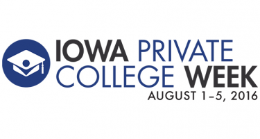 Iowa Private College Week, August 1-5, 2016