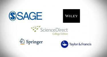 Online Journals Sage, ScienceDirect, Springer, Taylor and Francis, Wiley