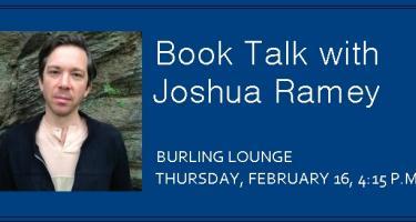 Book Talk with Joshua Ramey