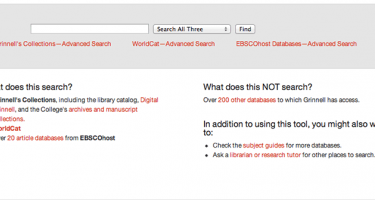 The 3Search online tool