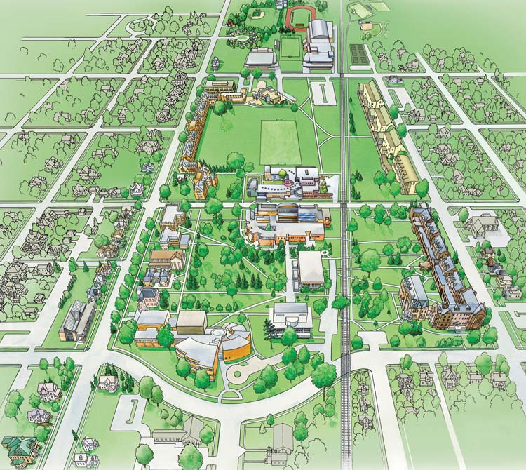 Grinnell College Campus Map 76497 Newsmov